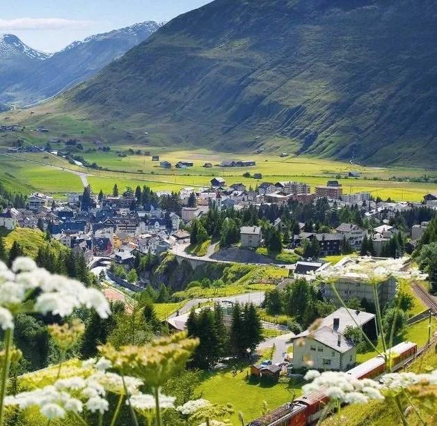 Andermatt Swiss Alps