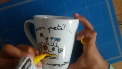 tasse personnalisée -mon petit monstre