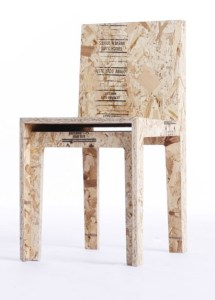 chaise OSB