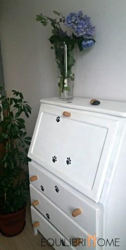 meuble relooké avec du liège