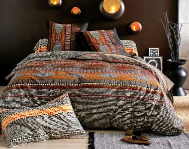 """linge de lit """"aborigène"""""""