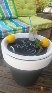 Pot-table basse