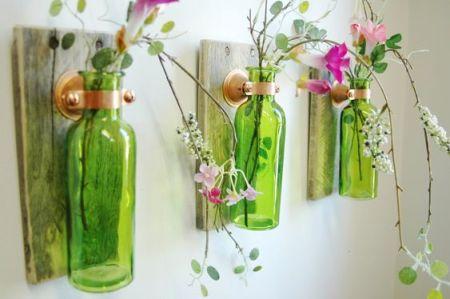 deco vert - recup bouteilles