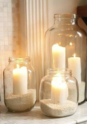 verre-deco-recycler-bocaux-bougeoirs