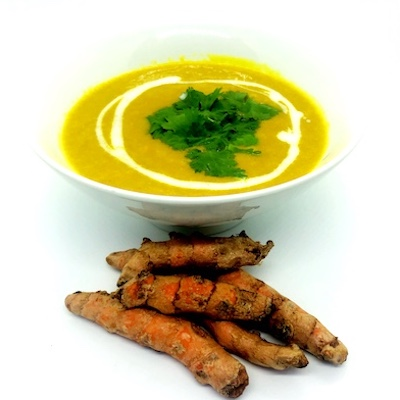 Golden Halo Turmeric Soup
