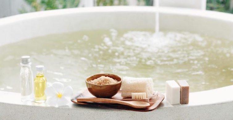 Bath-time detox