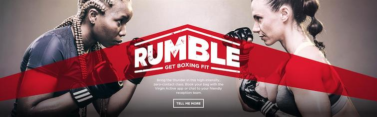 virgin active rumble