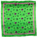 Green Glory 90x90cm scarf