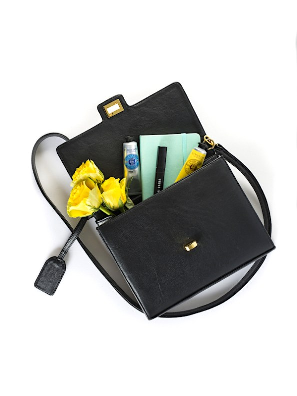 Milaluna handle bag_styled contents