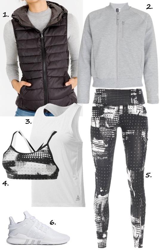 Winter workout gear