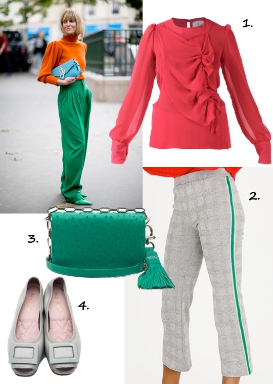 SS2018 Red and Green Trend