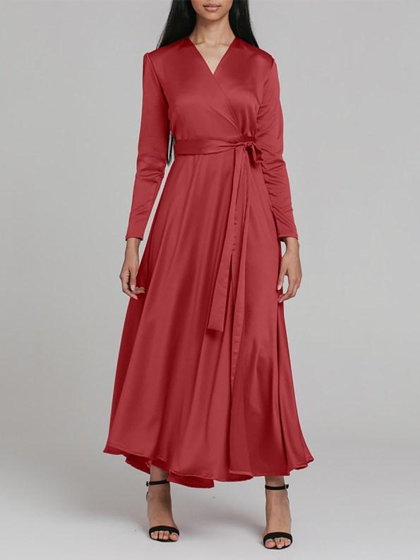 Mareth Colleen Meg Dress Rusty Red 2 _SHPEN150
