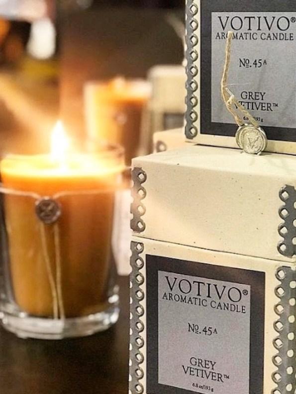 Votivo Aromatic Grey Vetiver Candles