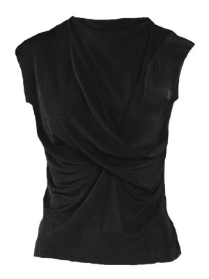 Mareth Colleen Faye Top Black Shopfront