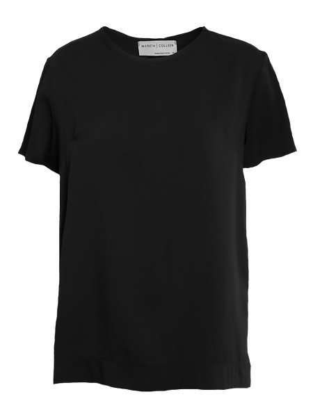 Black T-shirt Longer Length Womens South Africa
