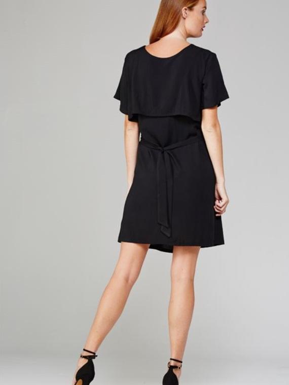 Napa Dress Black Back