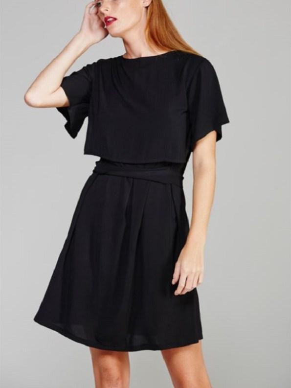 Napa Dress Black Front