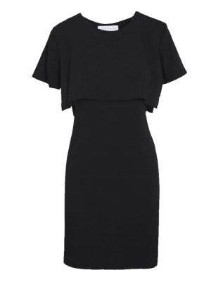 Mareth Colleen Napa Dress in Black