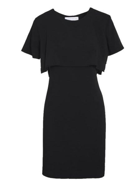 Mareth Colleen Napa Dress in Black