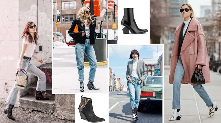 Western-style boot trend