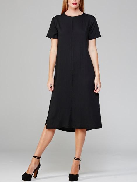 Harper Dress Black Front