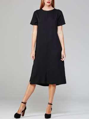 Mareth Colleen Harper Dress Black Front