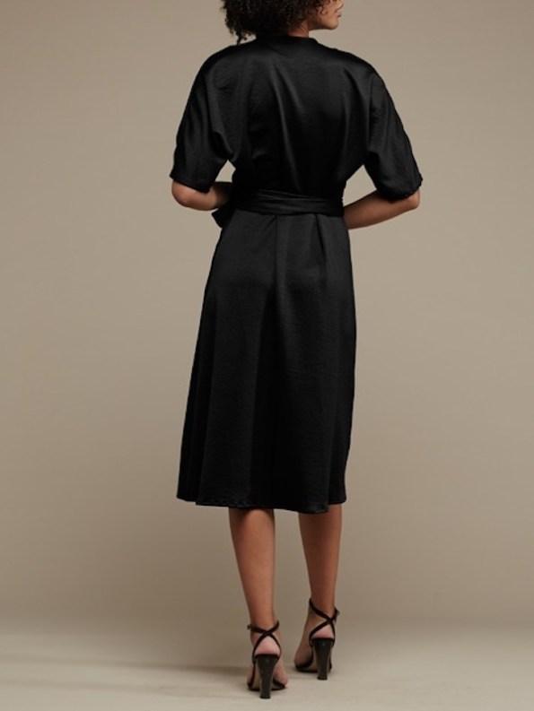 Mareth Colleen Bea Dress Black Back