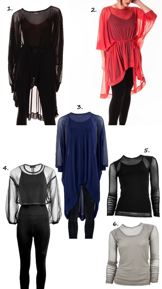 Workout gear layering