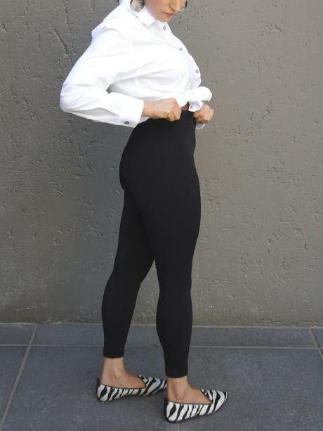 High Waisted black leggings South Africa