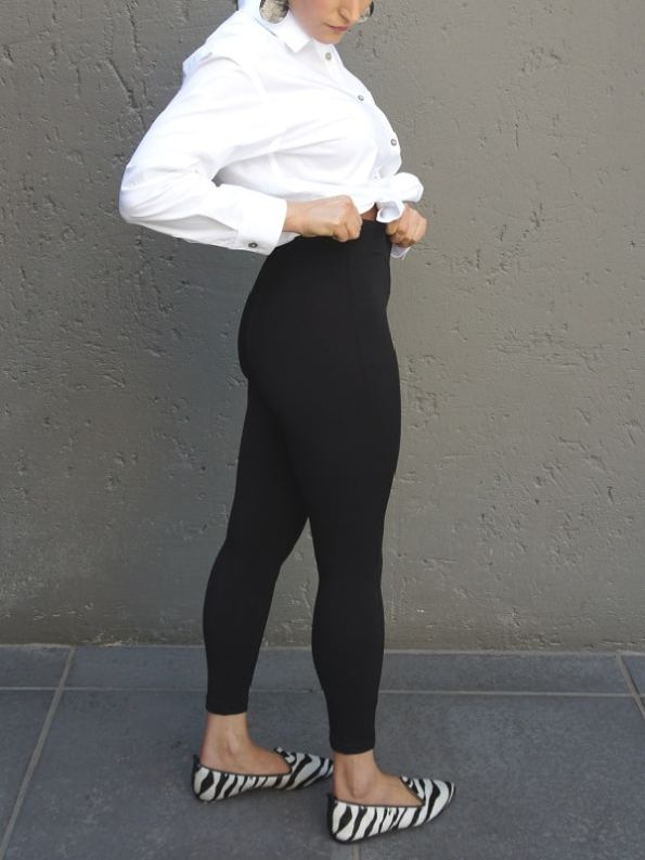 JMVB High-waisted Leggings Black Waist