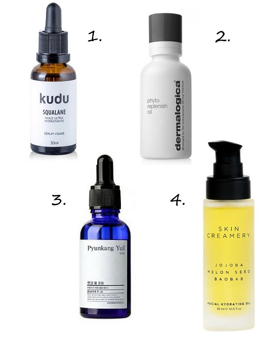 Facial Oil recommendations