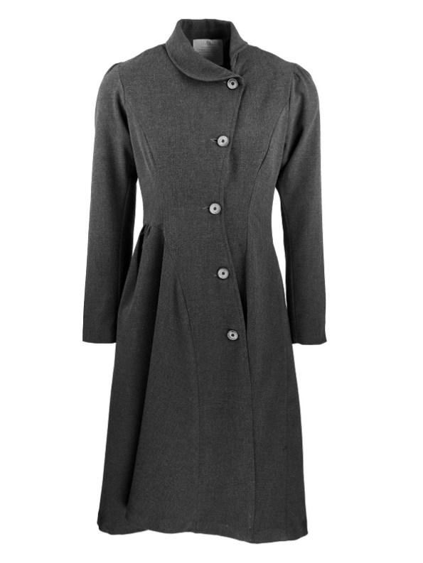 Smudj Vivienne Coat Anthracite Shopfront