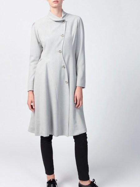 Grey Smudj Vivienne Coat