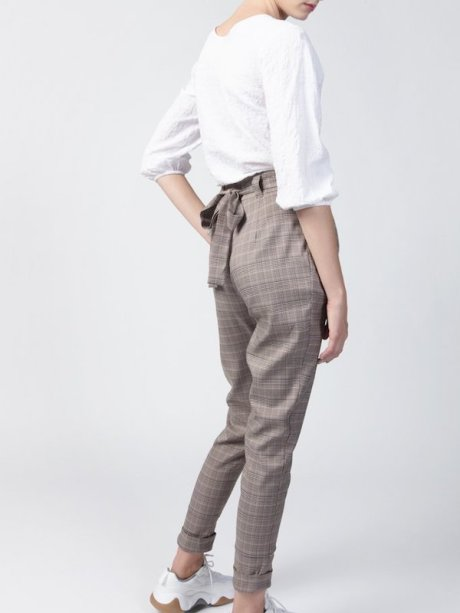 Finsbury Wrap Trouser Back