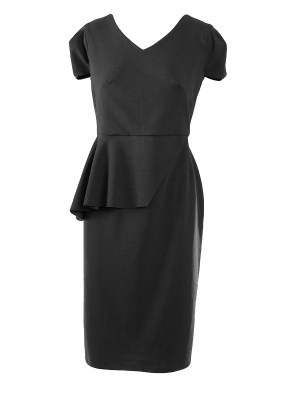 Mareth Colleen Lock Dress Black Shopfront