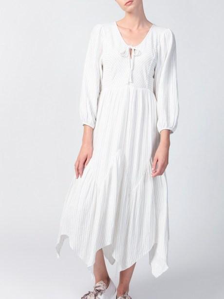 Smudj Bali Dress White Front