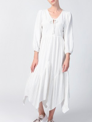 Smudj Bali Dress White Front