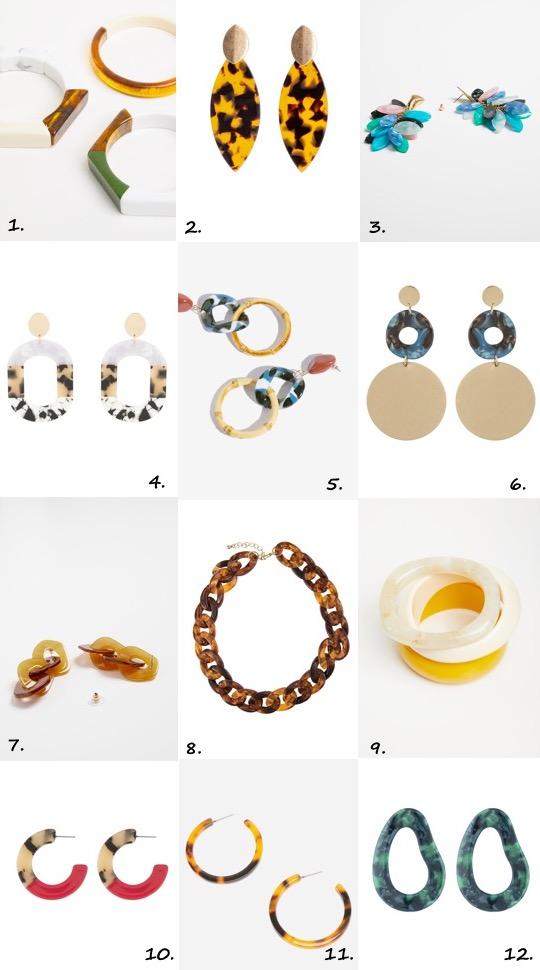 Resin Jewellery Trend