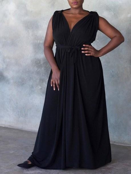 Erre Multi-way Myri Dress Black 3