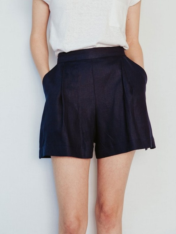 Good Gardening Shorts Navy, Front Cropped