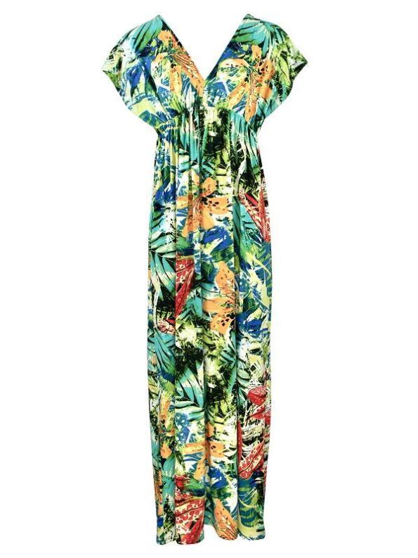 JMVB St Tropez Dress Tropical Print Shopfront