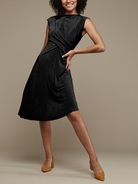 Mareth Colleen Faye Dress Black Front