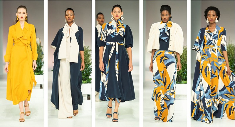 South African designer at SA Fashion Week Judith Atelier