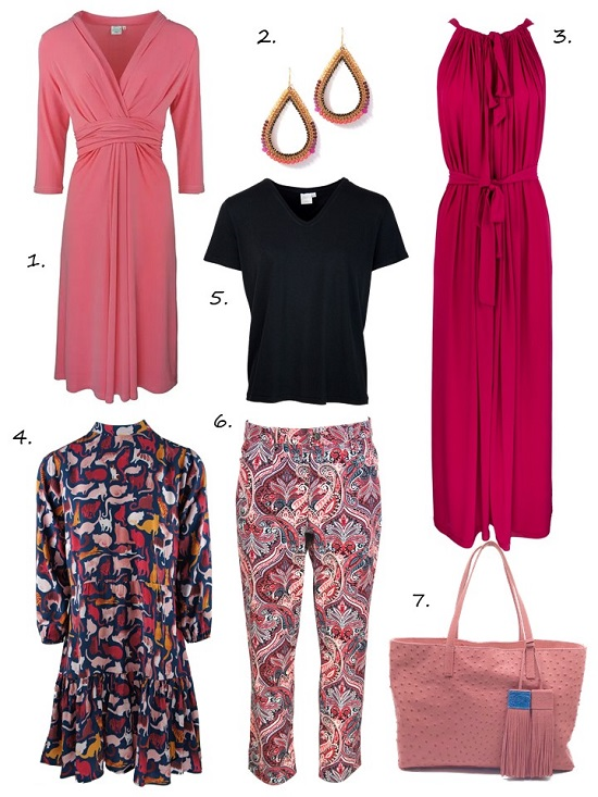 Hot pink colour trends 2019
