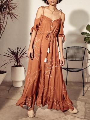 Asha Eleven Sahasrana Dress Bloom Front