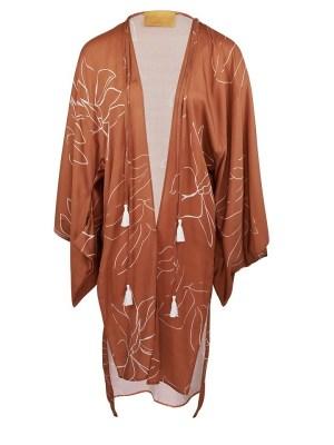 Asha Eleven Swim in the Dark Kimono with Sonder Swimsuit Bloom Shopfront