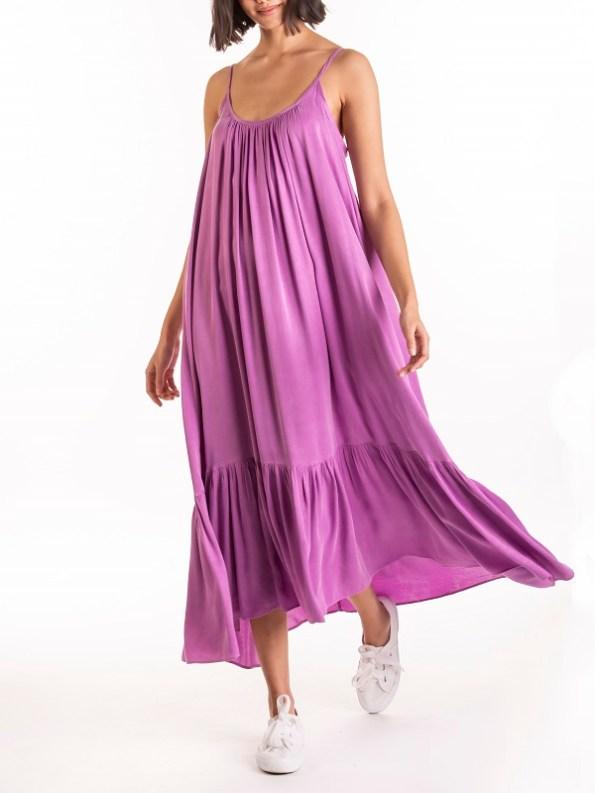 Smudj Frill Dress Front 2