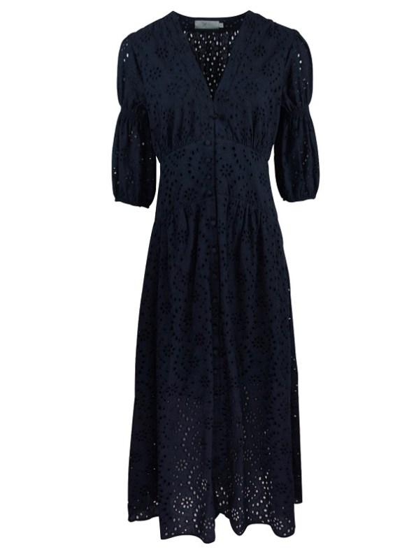 Smudj Wayfarer Dress Navy Shopfront