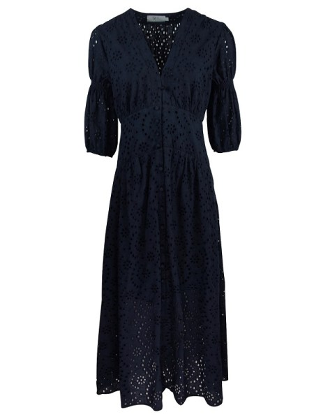 Smudj Wayfarer Dress Navy Shopfront Final