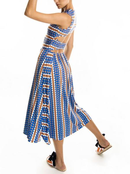 Heart print summer dress with cutouts South Africa